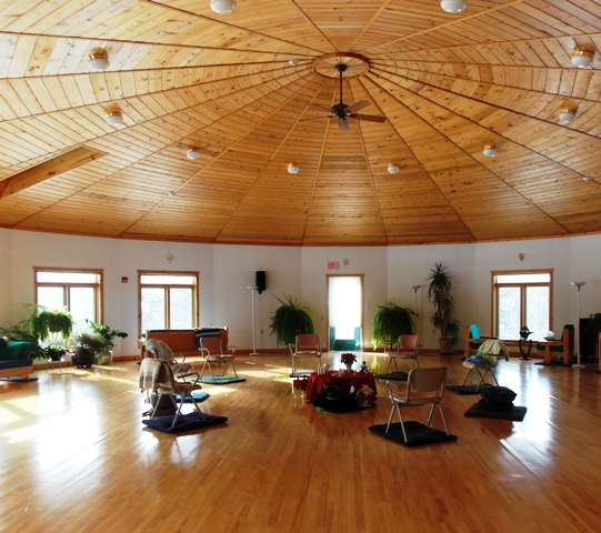 Christine center special retreat activities- meditation room