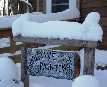 activities at our wellness center include intuitive painting, meditation, and more