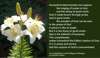St. Hildegard: Reflections of Soul, 10